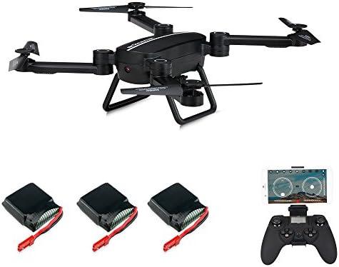 Goolsky JIE-Star X8TW 0.3MP Cámara WiFi FPV Plegable Selfie Drone ...