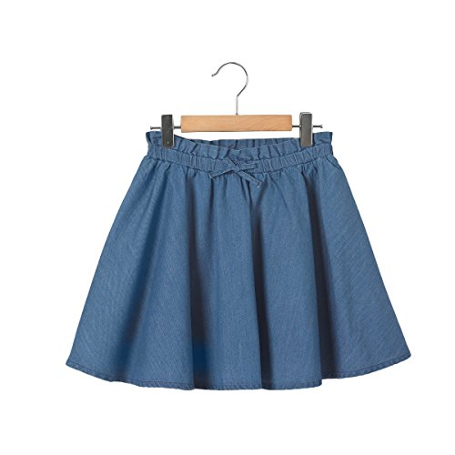 La Redoute Collections Denim Skater Skirt, 3-12 Years Blue Size 6 Years (114 cm) - La Redoute Skirt