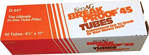 KEN AG D547 150033 Breakproof Milking System Filtering Tube Tan, 4 7/8 x 17