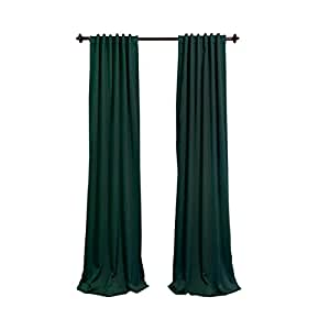 hunter green kitchen curtains artofabric polyester curtain panel 56x63 inch 4384