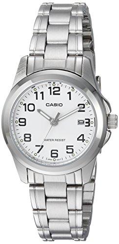 Casio Women's LTP-1215A-7B2DF Quartz Analog Silver Tone - Womens Casio Ltp Watch