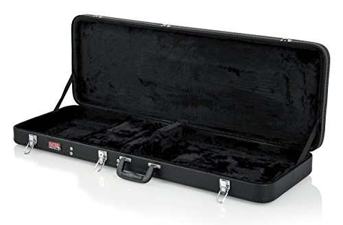 Gator Cases Hard-Shell Wood Case for Standard Electric Guitars; Fits Fender Stratocaster/Telecaster, More (GWE-ELECTRIC) by Gator (Image #2)