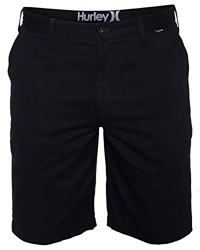 Hurley Men's One and Only Chino Short, Black, 36 (Hurley Black Belt)