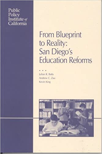 From blueprint to reality san diegos education reforms julian r from blueprint to reality san diegos education reforms julian r betts andrew c zau kevin king 9781582131054 amazon books malvernweather Images