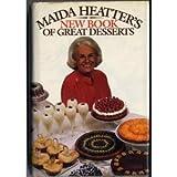 Maida Heatter's New Book of Great Desserts, Maida Heatter, 0517107546