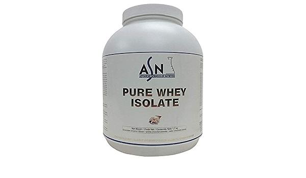 ASN PURE WHEY ISOLATE - chocolate - 1,7kg: Amazon.es: Salud y ...