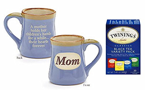 Mother's Day Gift Set Bundle for Mom: Coffee Mug with Twinings of...