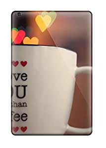 For Ipad Mini/mini 2 Protector Case Beautiful Quote Written Coffee Cup Phone Cover by ruishername