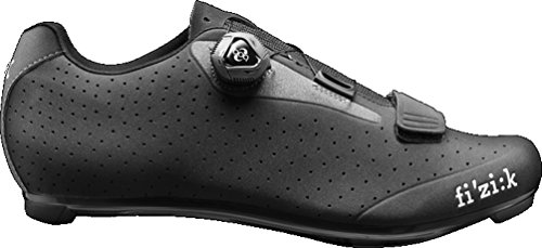 Fizik R5B Uomo Boa Cycling Shoe - Men's Black/Dark Gray, 46.5