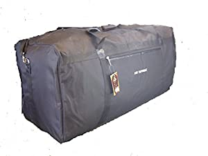 EXTRA LARGE CARAVAN HOLDALL CAMPING FISHING TENT HOLDALL STORAGE BAGS  (Black)