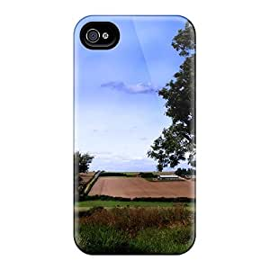 WilliamBain Snap On Hard Case Cover The Magnificent Fields Protector For Iphone 4/4s