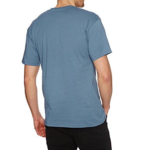 Vans U Classic Slip-on, Baskets mode mixte adulte Blau (Copen Blue-White Pii)