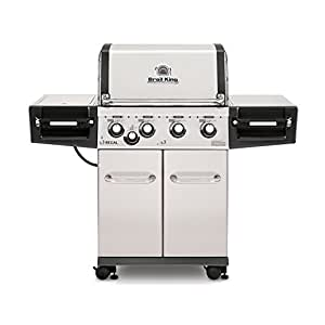 Broil King Regal S440 Pro  - Stainless Steel - 4 Burner Propane Gas Grill