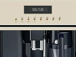 Smeg CMS8451P - Cafetera (Integrado, 1,8 L, Granos de café, De ...