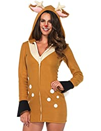 Womens Plus Size Fawn Costume