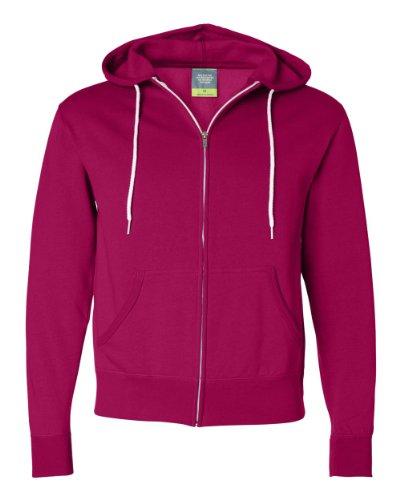 Independent Trading Unisex Full-Zip Hooded Sweatshirt, XL...
