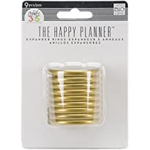 Me and My BIG Ideas RING-02 Create 365 The Happy Planner Expander Rings, Gold