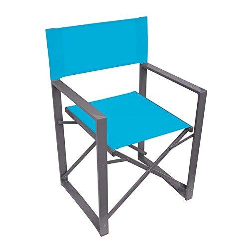 (N/A, Blue) - Yellowstone Vector Folding Director Chair   B01CBHI4RU