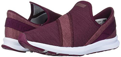 New Balance Women's Nrgize V1 FuelCore Easy Slip-On Sneaker, Twilight Rose/Dragon Fruit, 8 B US