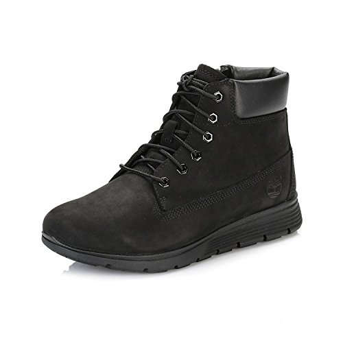 Timberland Youths Junior Killington Boot Black Nubuck Leather Boots 5 US by Timberland