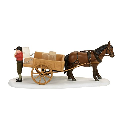 Department 56 New England Village Wenham Lake Ice Delivery Accessory Figurine, Multicolor (4056658)