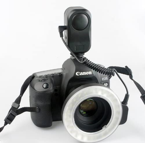 W48 LED Makro Macro Ring Lighting Flash for Sony//Canon//Nikon//Pentax//Panasonic//Samsung DSLR Camera