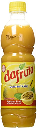 DaFruta - Passion Fruit Concentrate Juice - Suco de Maracuja Concentrado -16.9 Fl.Oz. (500ml)