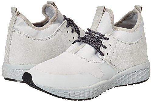 Jfm17 Femme High Cut Gris Sneaker Bianco Basses q6t1w