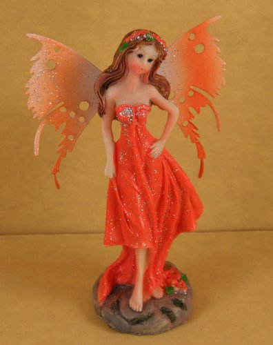 Delicate Painted Figurine Gardens Creating