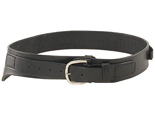 - TRIPLE K 11009 110 Wyoming Drop Loop Belt, Black, Plain Finish