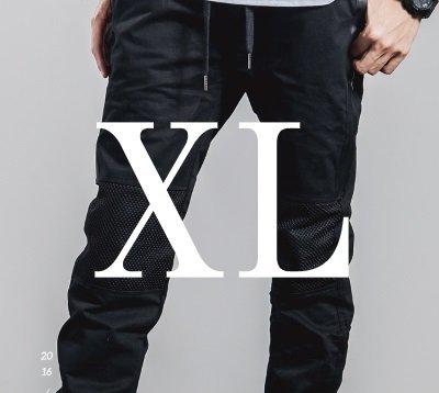 (メイクトゥビー)Make2BeジョガーパンツMF14(Black_XLサイズ)