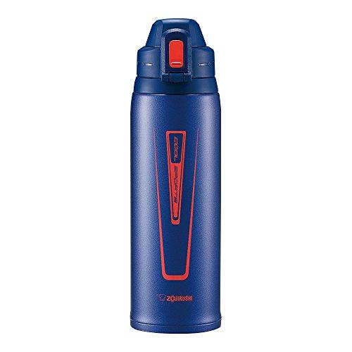 Zojirushi Stainless Steel Cool Flask - Sports Type (1.03L Capacity) Orange Navy SD-EC10-AD by Zojirushi (Image #1)