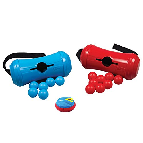 Wham-O STAY 'N PLAY Wiggle Box Variety Game Sets, 4.2 x 12 x 9 inches, red and blue - Wiggles Party Collection