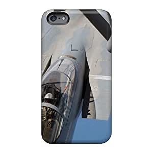 Scratch Protection Hard Phone Cases For Apple Iphone 6s Plus With Provide Private Custom Trendy Refueling In Flight Image Luoxunmobile333
