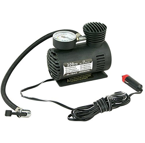 Why Should You Buy Schoolsupply 1pcs Car Inflatable Pump Portable Mini Air Pumps Compressor DC 12V 3...