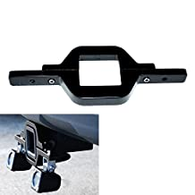 TURBO SII Tow Trailer Hitch Mounting Mounts Light Bracket Fit Cube/Pod LED lights Backup Reverse Lights Rear Search Lighting Off-Road Work Light Bar Lamps For Truck SUV Trailer RV Pickups 4x4