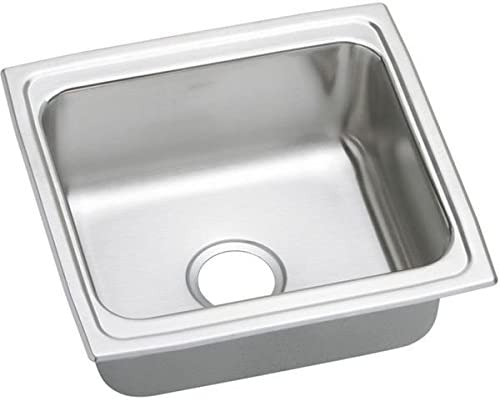Elkay LFR1918 Sink, Single-Bowl, Stainless Steel