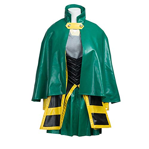 Women Green Battle Suit Outfit Cosplay Costume -
