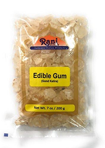 Rani Edible Gum Whole (Goonder Tragacanth Gum) Natural 7oz (200g)