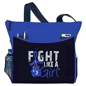 "Fight Like a Girl Boxing Glove Tote Bag""Dakota"" - Assorted Colors"