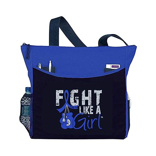 "Fight Like a Girl Boxing Glove Tote Bag""Dakota"" - Assorted Colors"
