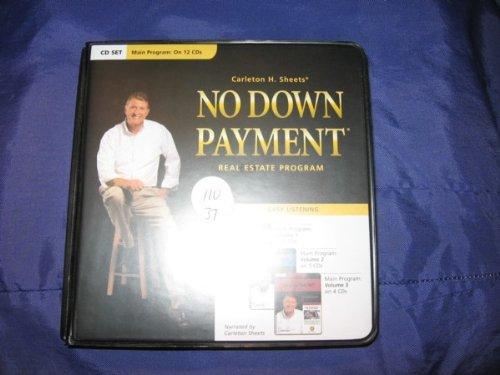 CARLETON H SHEETS; NO DOWN PAYMENT; REAL ESTATE PROGRAM (12 CDS; 2005) - Carleton Sheets