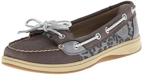 Angelfish Life mujer 9102 Street para Publishers Graphite Sperry leopard Zapatos Zqwwx7tP