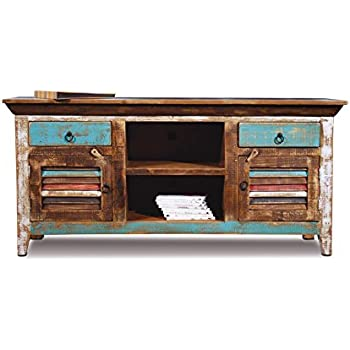Relatively Amazon.com: Distressed Reclaimed Solid Wood Credenza / Tv Stand  PP33