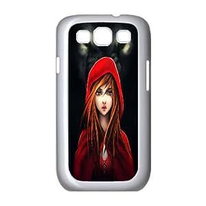 Wolf Pattern Plastic Hard Case For Samsung Galaxy S3 TPUKO-Q760136