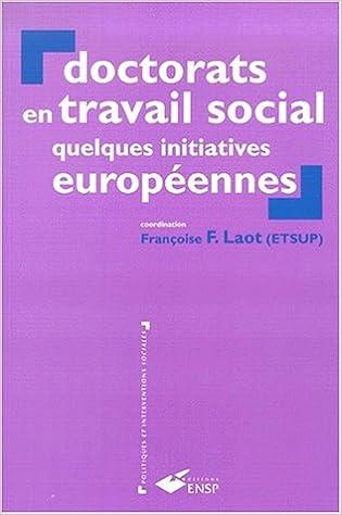 Doctorats en travail social pdf, epub ebook