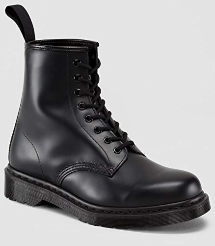 Dr. Martens - 1460 Mono, Black Smooth, 6 US Women / 5 US Men