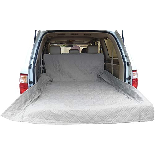Formosa Covers Deluxe Quilted and Padded Cargo Liner Grey - One Size Fits All 52