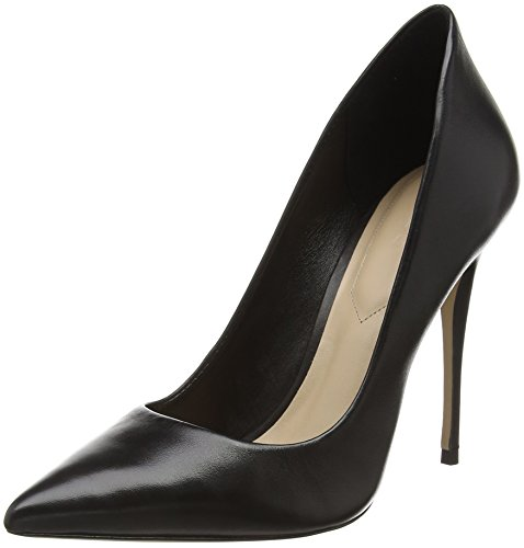 Leather Aldo con Nero Donna Black Tacco 47079553 97 Scarpe PwqZf
