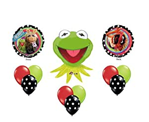 Muppets Kermit the Frog Birthday Party Supplies Balloons Decor